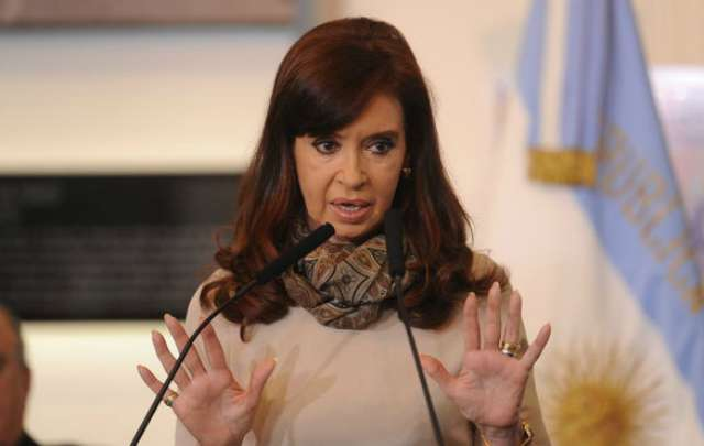 Cristina Fernández sigue afectada por una laringitis aguda (Foto: Archivo)