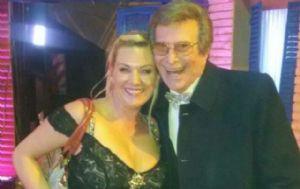 Silvio Soldán quedó encantado con Celeste Benecchi.