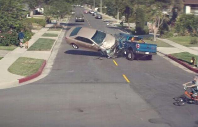 VIDEO: Impactante campaña de seguridad vial