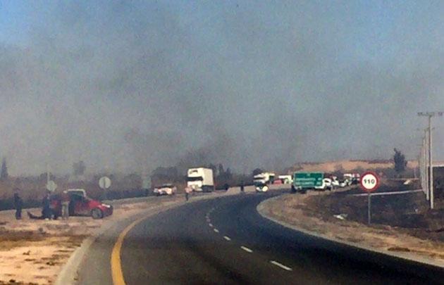 Denuncian que el accidente ocurrió por presencia de humo en el camino de la ruta 36.