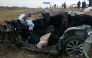 Diego Barisone murió al chocar contra un camión.