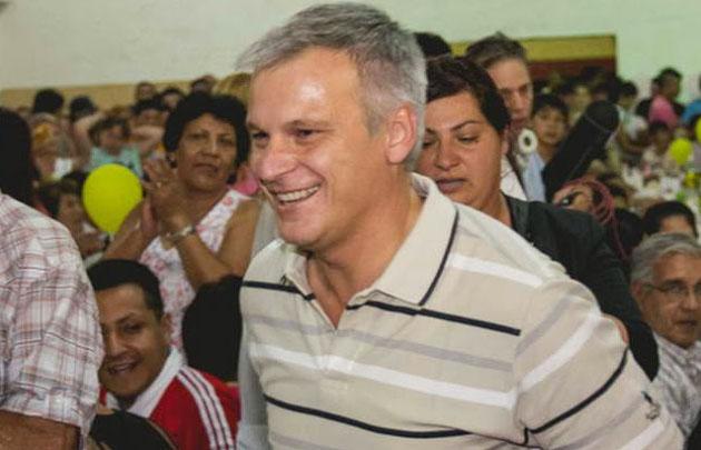 Frizza es precandidato a diputado nacional por Córdoba de Cambiemos.