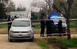 El cuerpo de Morán estaba tirado en una zanja (Foto: Captura de TV)