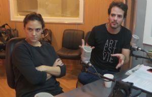 Pía Mancini y Esteban Mirofsky, promotores de gobierno abierto.