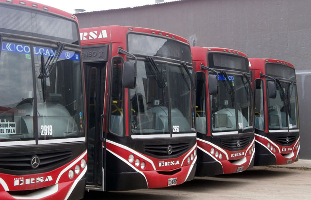 Será normal el servicio de transporte urbano en Córdoba.