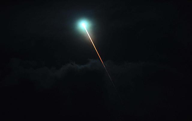 Una luz en el cielo causó inquietud en el centro del país.