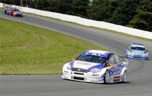 El piloto de Fiat resultó ser el más rápido de la competencia.