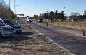 El incidente se registró en Circunvalación, cerca del Puente Vélez Sársfield.