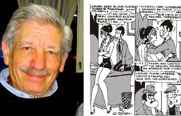 Julio Olivera en Noche y Día