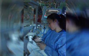 Nathanael permanece internado en el Hospital Noenatal.