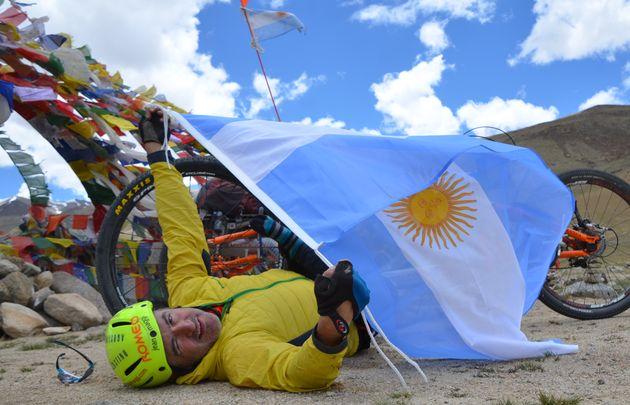 Juan Maggi y su travesía al Himalaya.