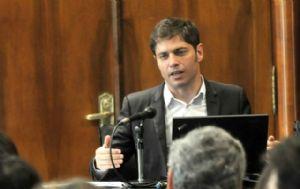 Kicillof criticó a Urtubey por sus dichos sobre los fondos buitres.