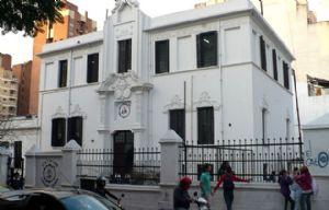 Alumnos tomaron el colegio Leopoldo Lugones.