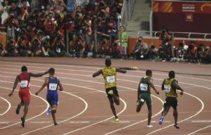 Usain Bolt ganó la medalla de oro en el Mundial de Pekín.