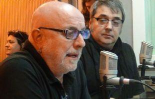 Juan Carlos Baglietto y Lito Vitale en ''Viva la Radio''.