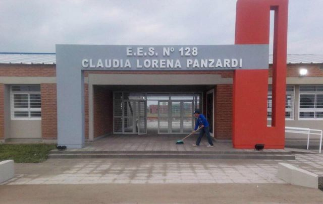 La escuela Claudia Lorena Panzardi.