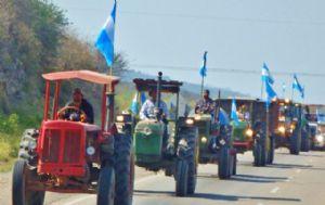 Caravana agropecuaria en Salta.
