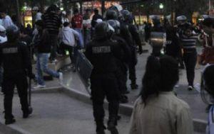 El operativo se montó en la Plaza Belgrano (Nuevo Diario).