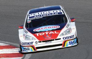 Canapino, con Peugeot 408, el más rápido en el callejero.