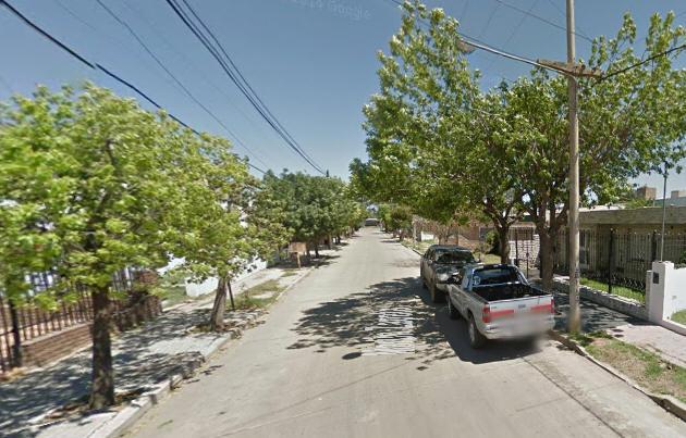 El hecho ocurrió en calle Zapata al 4.800 (Foto: Google Street View)