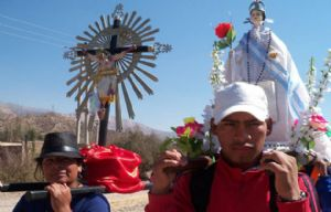 Arrancó la peregrinación desde Santa Victoria Oeste (Foto: El Tribuno)