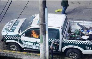 Incidentes en Almirante Brown (Foto: @FN_FastNews)