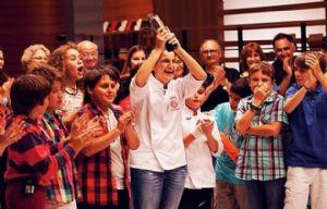 María, la gran ganadora de MasterChef Junior.
