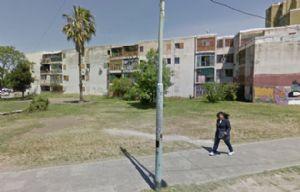 El complejo habitacional barrio municipal Soldati escenario de la tragedia.
