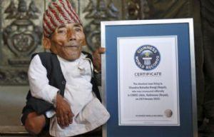 Murió el hombre más pequeño del mundo.