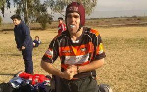 Mariano Lanza, el joven de Alta Gracia que conmovió al mundo del rugby.