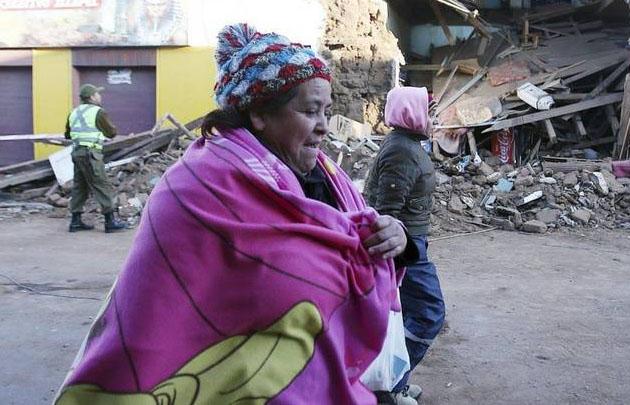 Se eleva la cifra de muertos en Chile tras el terremoto.