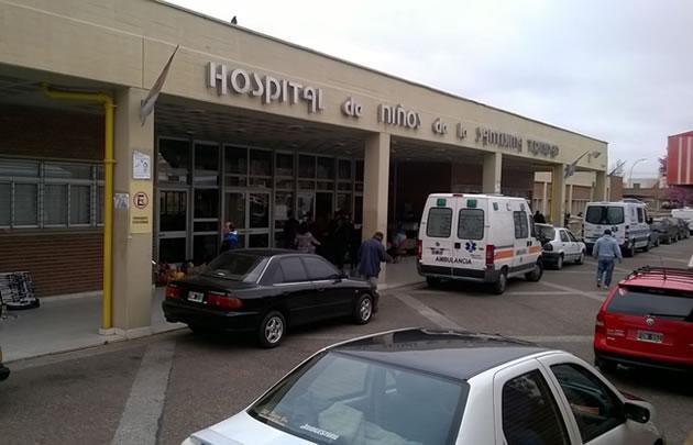 Ezequiel Romero permanece internado en el Hospital de Niños de Córdoba.