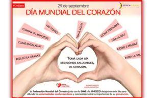 Día mundial del corazón (Tabaco o salud)