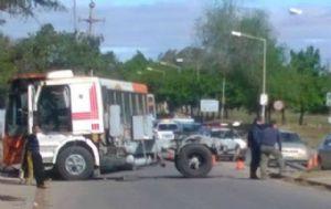 El accidente ocurrió frente a la fábrica de Fiat.