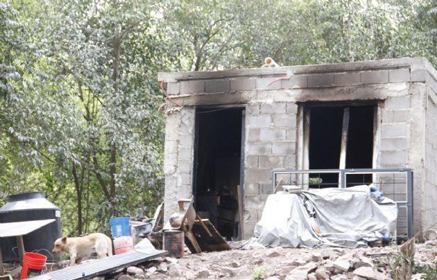 Una casa se incendió en el interior de Córdoba.
