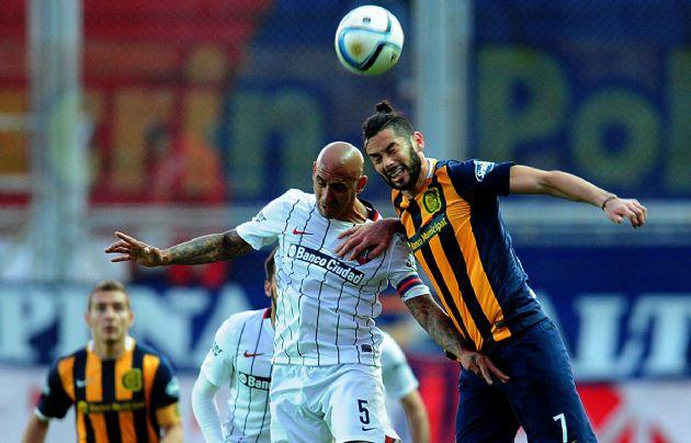 San Lorenzo y Rosario Central empataron 2 a 2.