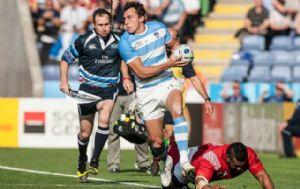 Argentina logró su segunda victoria en el Mundial de Rugby.