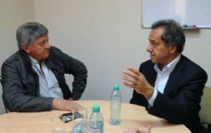 Scioli en la UNRC con Alessandri.
