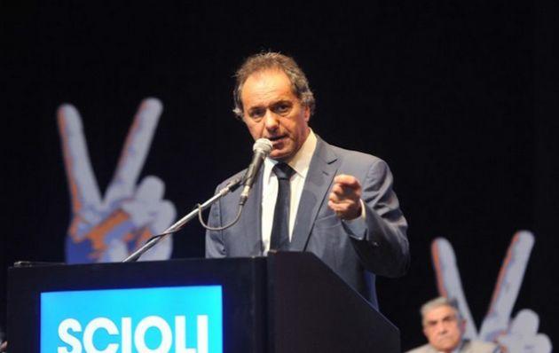 Scioli fijó su posición respecto a los holdouts (Foto: Archivo)