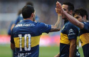 """El """"Xeneize"""" amplió su ventaja sobre San Lorenzo."""
