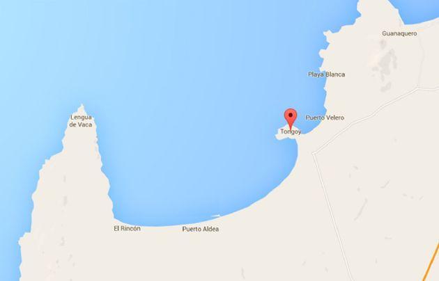 El sismo tuvo una profundidad de 26 kilómetros.