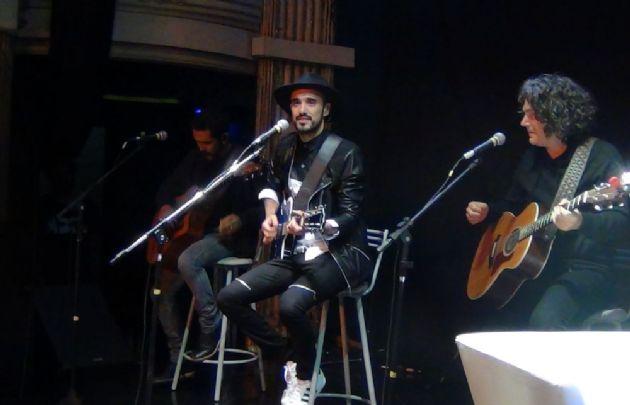 Entrevista de ''Juntos'' a Abel Pintos en Studio Theatre