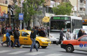 El miércoles los taxistas protestaron en Córdoba.