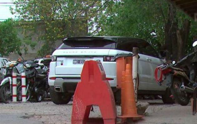 El accidente se produjo en la esquina de Bv. San Juan y La Cañada.
