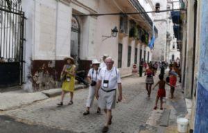 Turistas estadounidenses en La Habana (Foto: Archivo)
