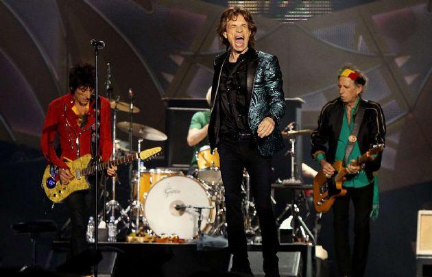 Los Stones actuarán esta noche en Chile.