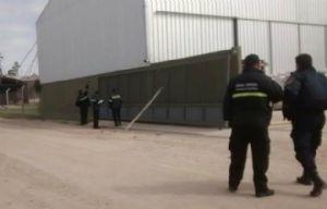 La fábrica está en Av. Maipú y Juan Miranda, de Luque (Foto de Canal 2)
