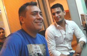 Christian Amato y Gustavo Corvalán en Juntos.