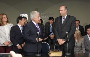 Marcos Farina lleva tres meses en su cargo.