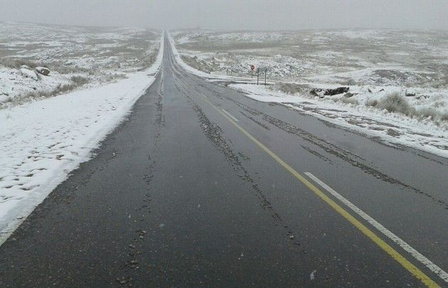 La nieve impidió la apertura de la temporada en Mina Clavero.